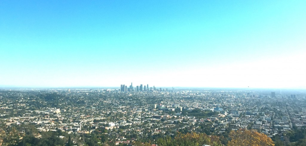 Los Angeles vista do Griffith Observatory.
