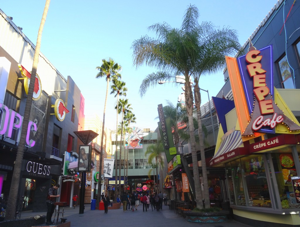 Universal Citywalk em Los Angeles Hollywood