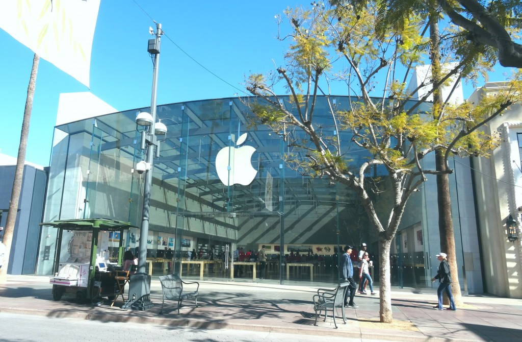 Loja da Apple na Third Street Promenade