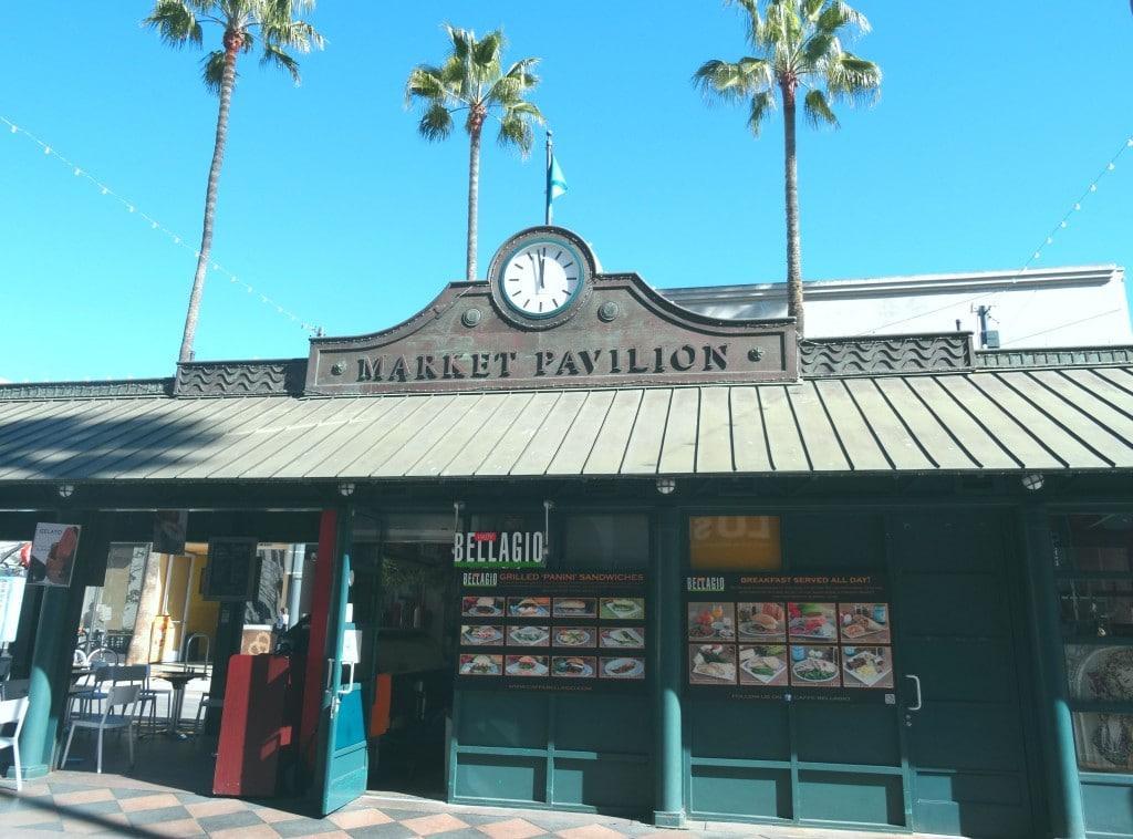 Market Pavilion na Third Street Promenade