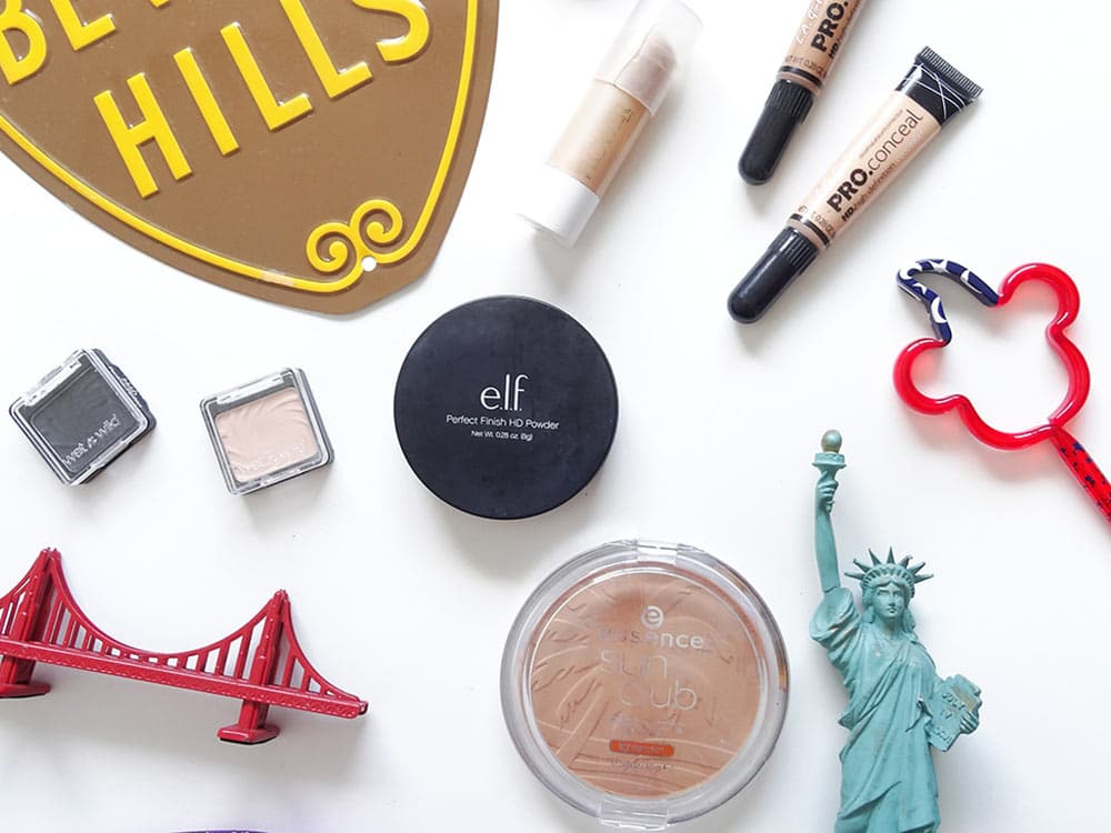 7 marcas de maquiagem baratinhas para comprar nos EUA