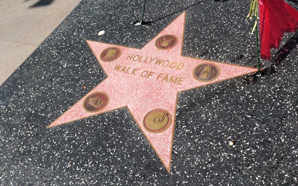 Entrada da Calçada da Fama em Hollywood