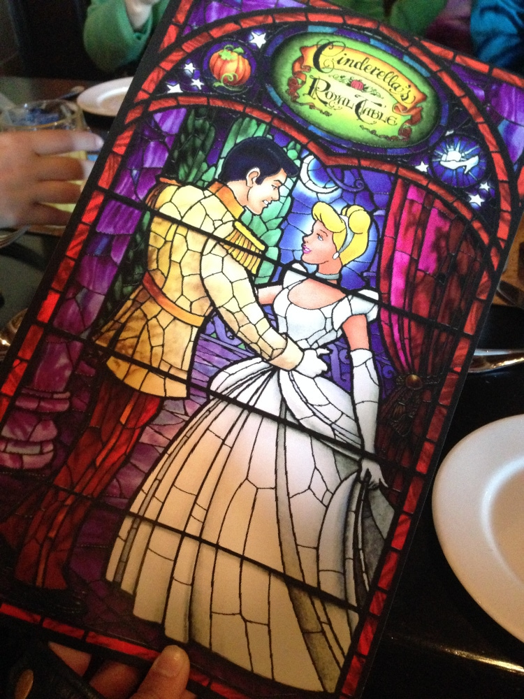Cafés da Manhã na Disney - Cinderella's Royal Table