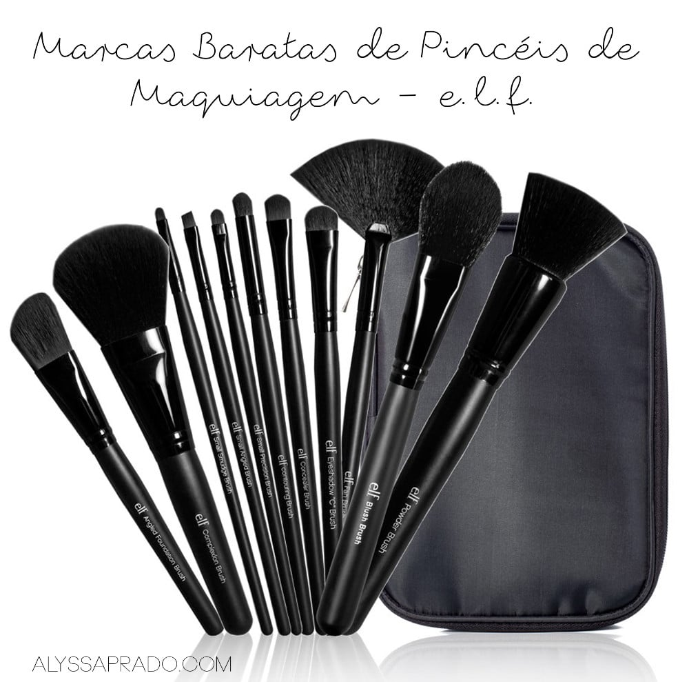 Marcas Baratas de Pincéis de Maquiagem: e.l.f.