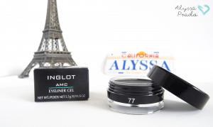 AMC Eyeliner Gel #77 Inglot – Em busca do delineador perfeito