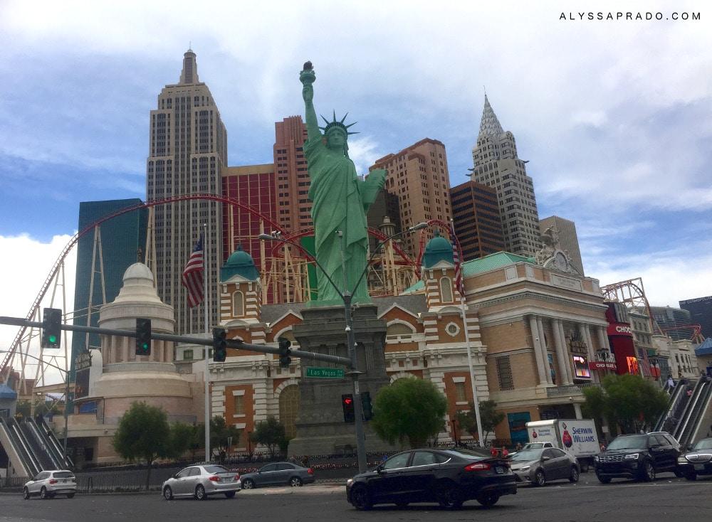 3 Dias em Las Vegas - Diário de Viagem - New York, New York