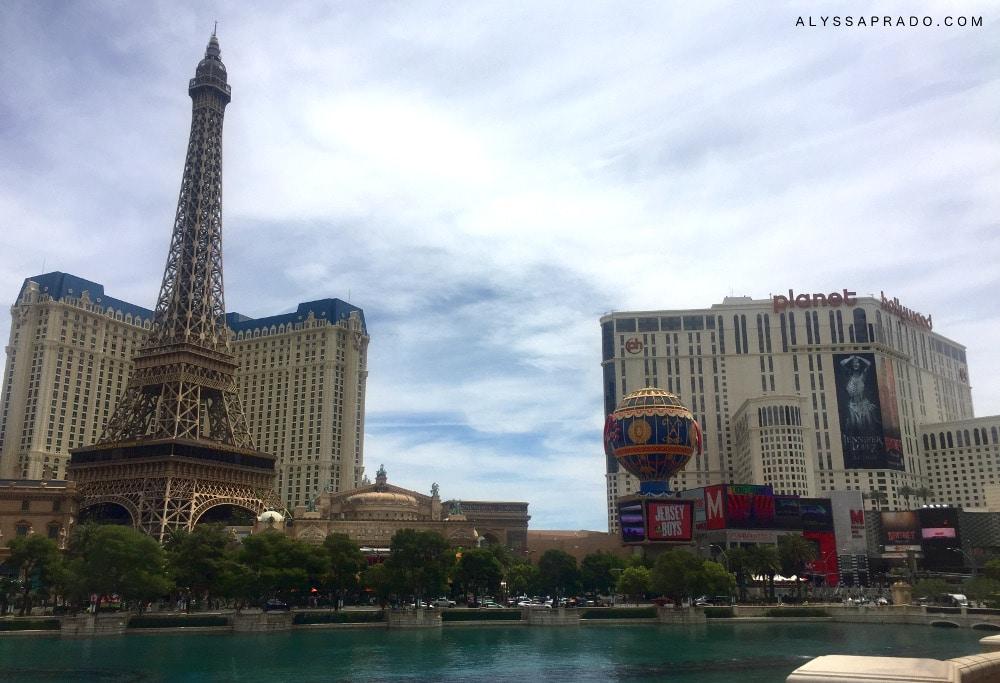 3 Dias em Las Vegas - Diário de Viagem - Paris