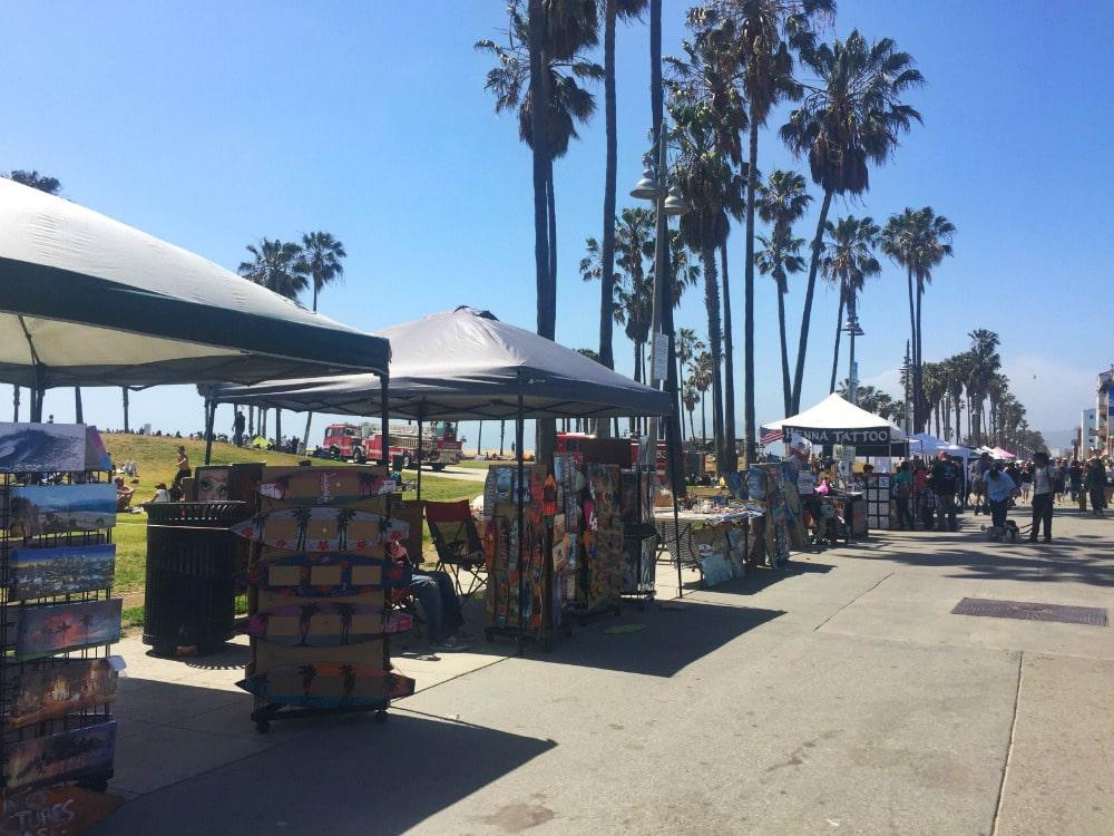 10 Passeios Grátis em Los Angeles - Venice Boardwalk