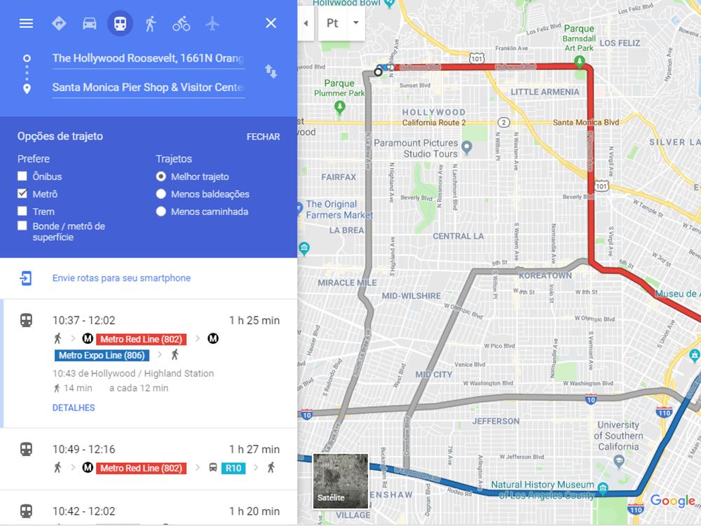 Veja nesse post dicas para aproveitar Los Angeles sem carro