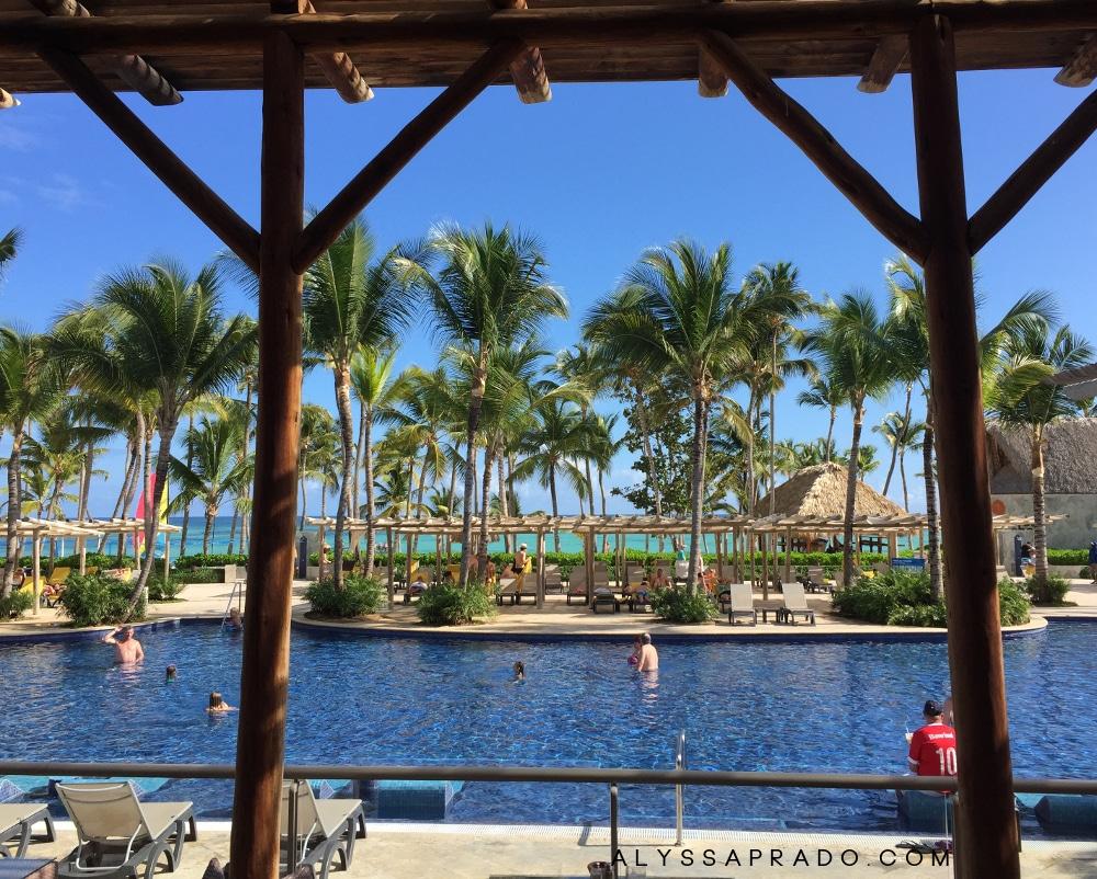 Viagem para Punta Cana em Casal - Vista do restaurante