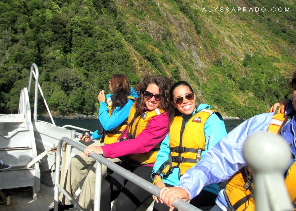 Experiência Topdeck na Nova Zelândia - Cruise em Milford Sound
