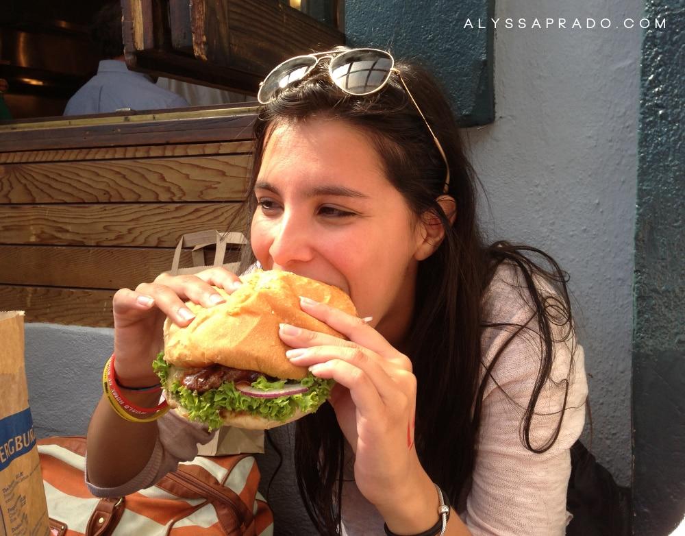 Experiência Topdeck na Nova Zelândia - Fergburger
