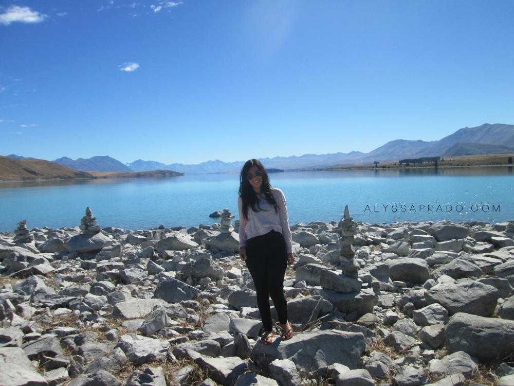 Experiência Topdeck na Nova Zelândia - Lake Pukaki
