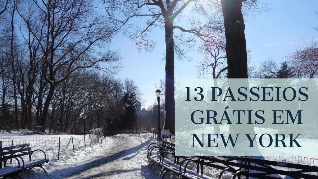 13 Passeios Grátis em New York