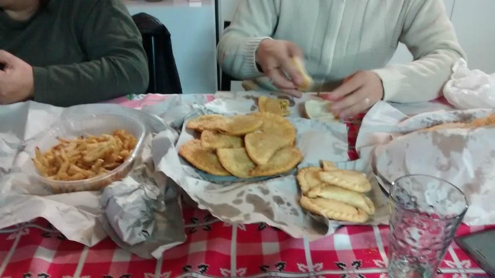Intercâmbio em Resistencia - Empanadas Fritas