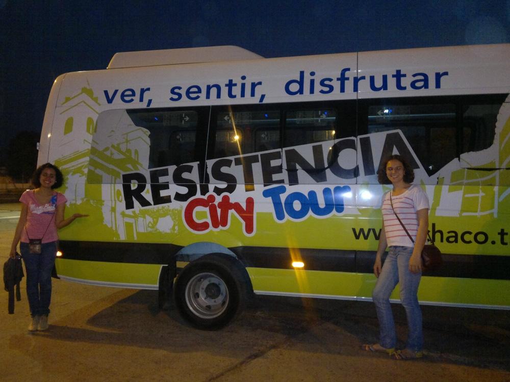 Intercâmbio em Resistencia - Tour pela cidade