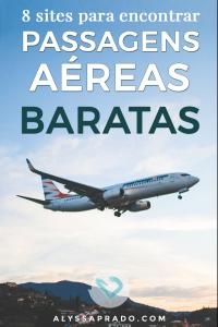 Descubra nesse post 8 sites para encontrar passagens aéreas baratas e economize na sua próxima viagem!