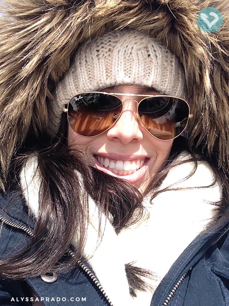 Bem vestida para enfrentar Nova York no inverno! Quer saber como foi a minha experiência? Então clica no link!