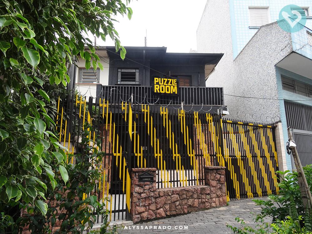 Fachada da Puzzle Room Brasil Unidade Praça da Árvore - Clique no link e descubra tudo sobre as salas de escape em São Paulo!