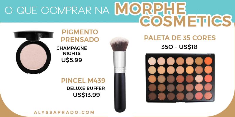 Pincéis, pincéis, pincéis!! Descubra os melhores produtos da Morphe Cosmetics e de outros 8 sites para comprar maquiagem nos Estados Unidos nesse post, é só clicar no link!