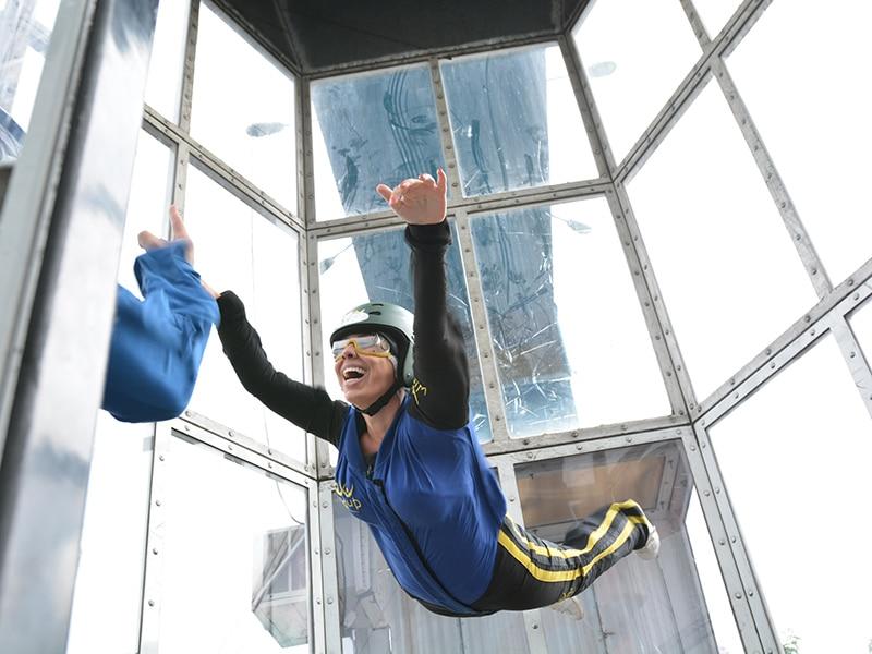 Wind up túnel de vento – Minha experiência em um simulador de paraquedismo indoor