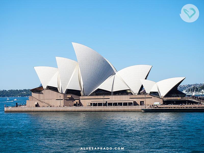 O Opera House é o passeio turístico mais famoso da cidade! Mas você sabe outros? Conheça o que fazer em Sydney nesse post com 15 sugestões.