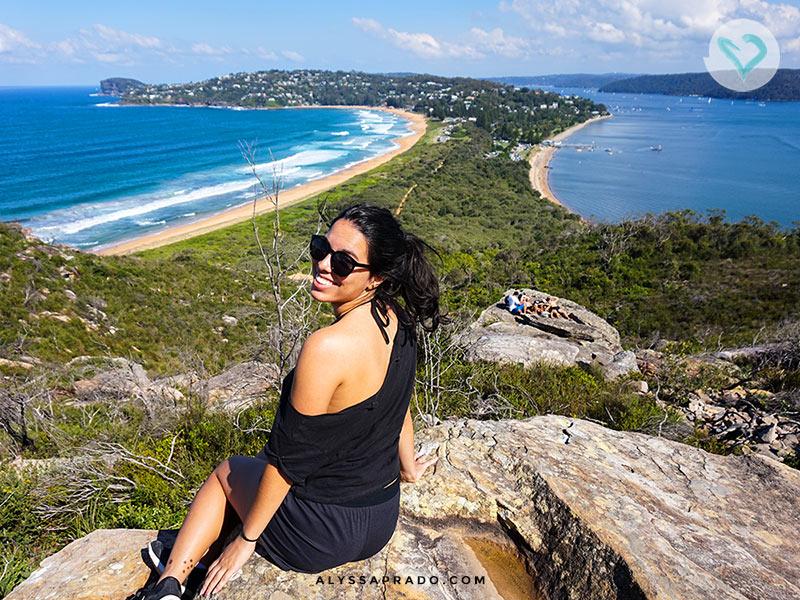 Essa é a Palm Beach, um dos passeios bonitos para fazer em Sydney! Conheça outros 14 programas da cidade clicando no link!