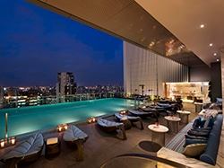 O Hilton Sukhumvit é uma opção de luxo para quem quer conhecer a cidade mais visitada do mundo! Descubra onde se hospedar na Tailândia nesse post!