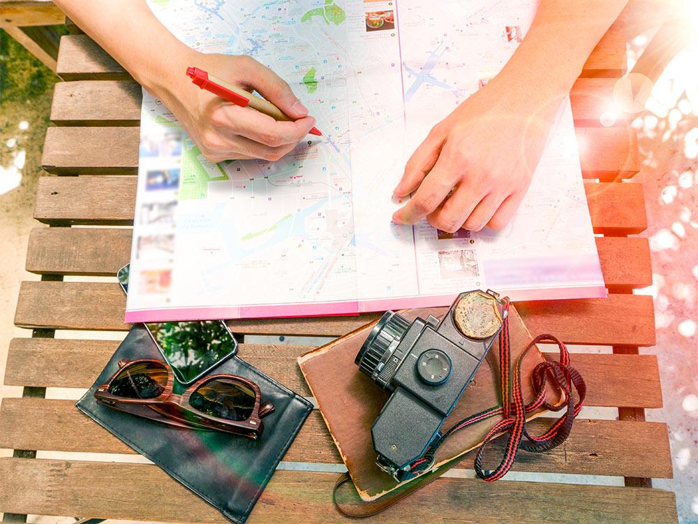 Como montar um roteiro de viagem – Dicas e aplicativos