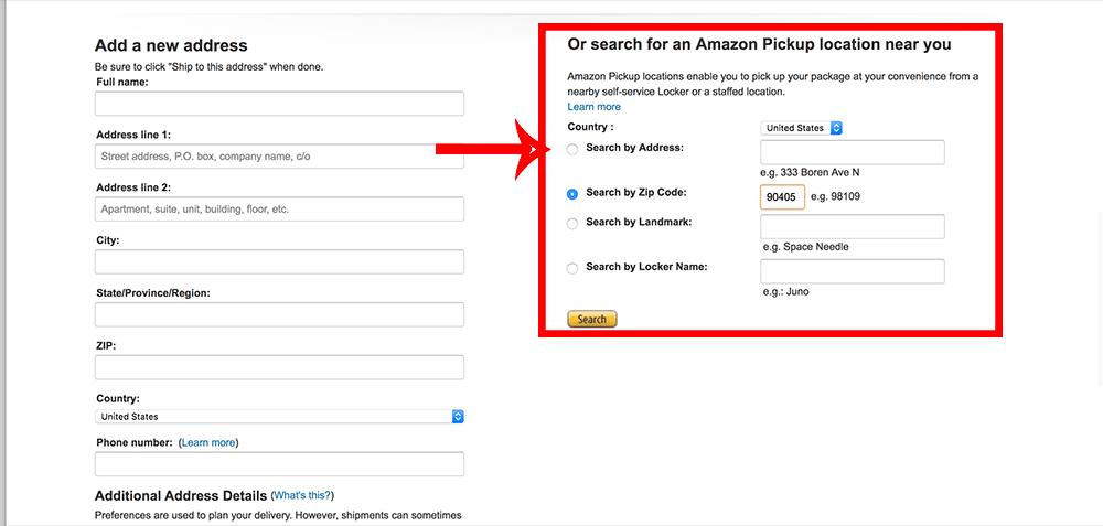 Aprenda como usar o Amazon Locker nos Estados Unidos nesse tutorial passo a passo!
