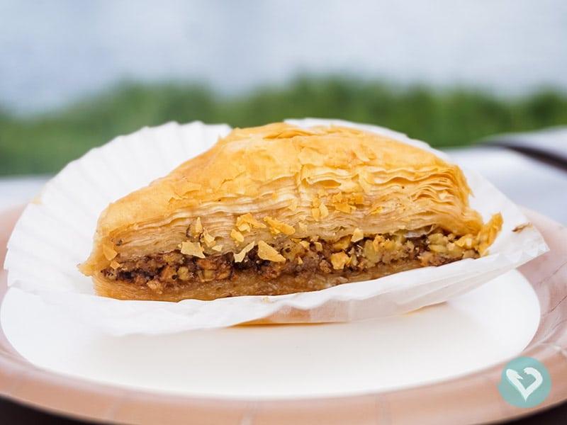Conheça Baklava e outras sobremesas deliciosas nesse post sobre o que comer na Disney!