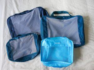 Packing Cubes – Dicas para deixar sua mala organizada