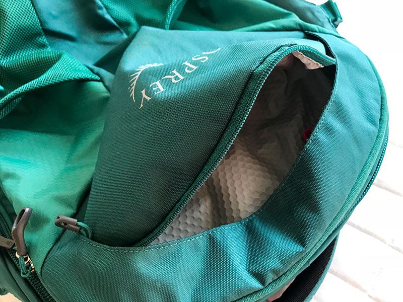 Leia resenha completa do mochilão de viagem Osprey Fairview