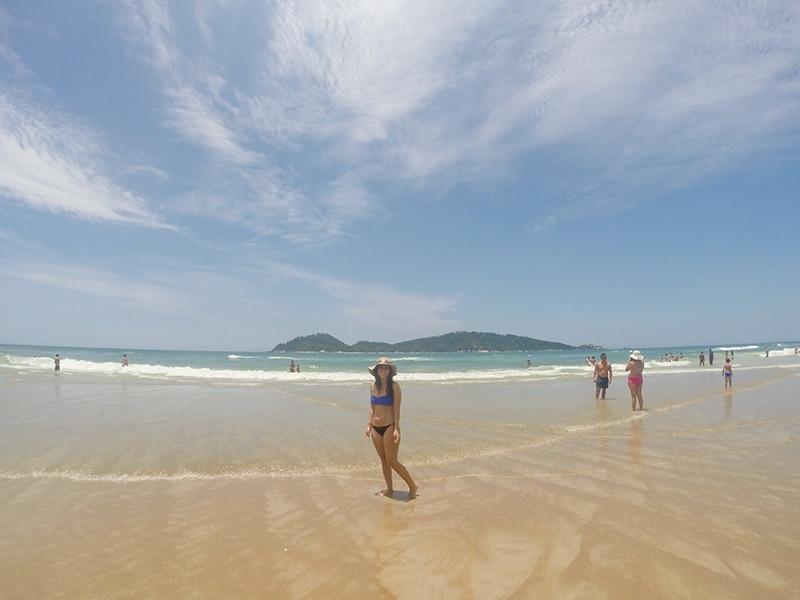 Praia do Campeche. Descubra as melhores praias de Florianópolis nesse post!
