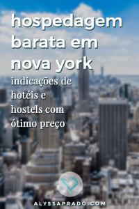 Procurando por hospedagem barata em Nova York? Então clique no link e leia esse post com sugestões de hotéis e hostels que não vão estourar seu orçamento na Big Apple! #novayork #manhattan #viagem #estadosunidos #hospedagem