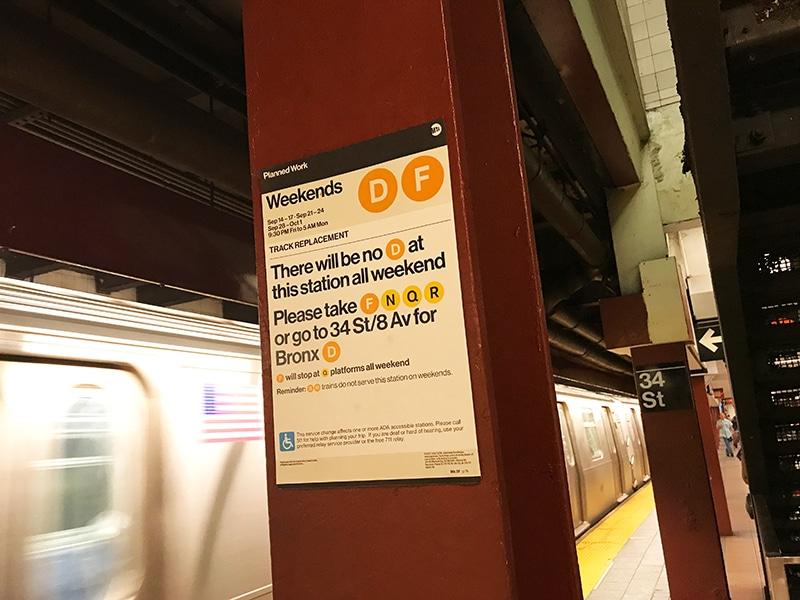 Aprenda como usar o metrô de Nova York nesse post! Dicas de como não se perder e navegar na cidade como um local!
