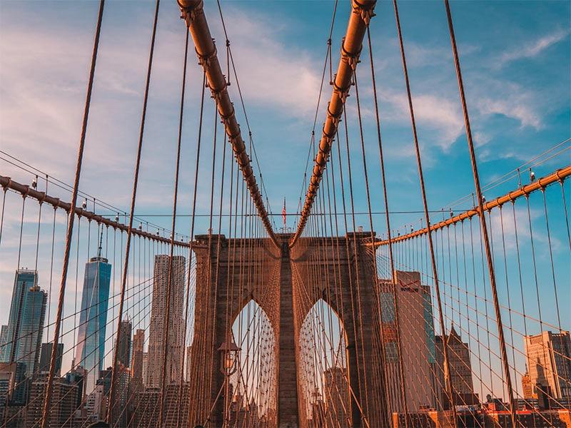 Brooklyn Bridge! Monte seu roteiro por Nova York com as ideias desse post! Dicas do que fazer na cidade por 7 dias ou mais!