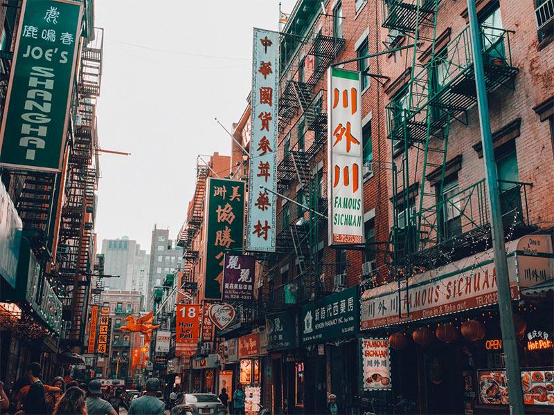 Chinatown! Monte seu roteiro por Nova York com esse post! Dicas do que fazer na cidade em 7 dias ou mais!