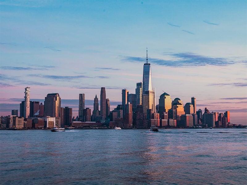Skyline de Manhattan visto de Hoboken! Na dúvida na hora de montar seu roteiro por Nova York? Então veja ideias para 7 dias na cidade nesse post!