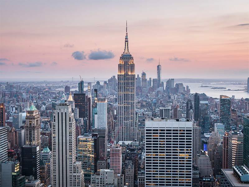 Vista do Top of the Rock em NY! Montando seu roteiro por Nova York? Então leia esse post e veja dicas do que fazer em 7 ou mais dias na cidade!