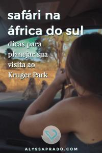 Quer fazer um safári na África do Sul? Então leia esse post com todas as dicas para planejar uma visita ao Kruger National Park, uma das maiores reservas do mundo! #safari #africadosul #krugerpark #animais #viagem #africa