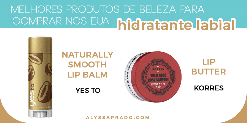 Descubra os melhores produtos de beleza para comprar nos Estados Unidos nesse post! Dicas de hidratantes, sabonetes, tônicos, séruns, máscaras e muito mais!