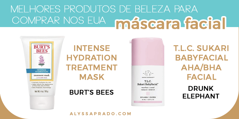 As melhores máscaras faciais para comprar nos Estados Unidos! Veja uma lista com os melhores produtos de beleza para comprar no país nesse post!