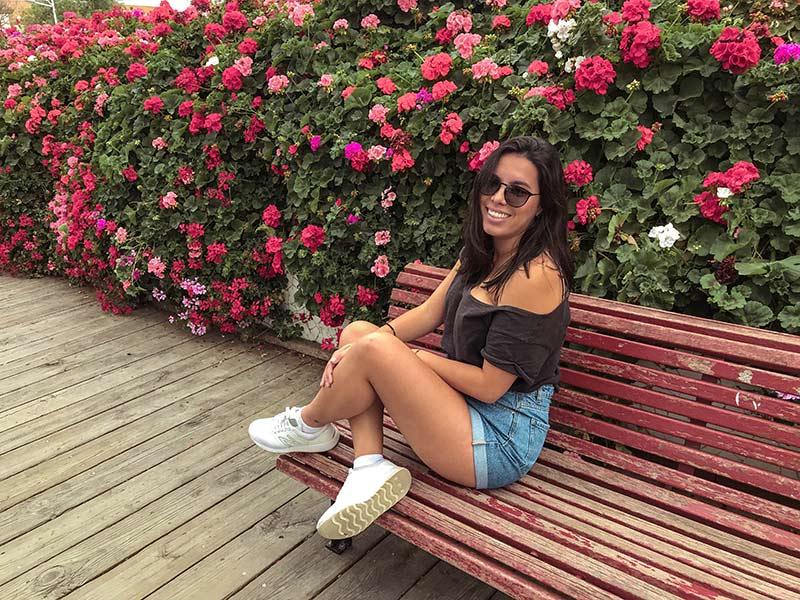 Ponte das Flores, no parque Turia! Descubra o que fazer em Valência na Espanha nesse post, com dicas de roteiro por 2 dias na cidade!
