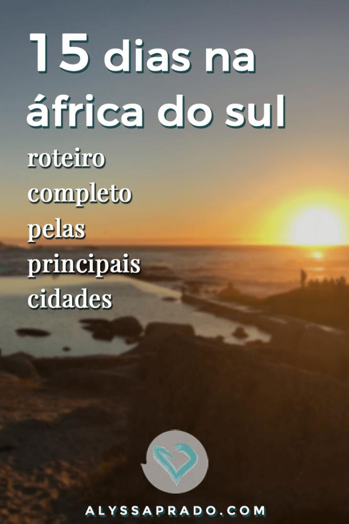 Veja nesse post um roteiro para a África do Sul e comece a planejar sua viagem! Dicas das melhores praias, atrações, cidades, onde fazer safári e muito mais! #africadosul #cidadedocabo #safari #kruger #viagem #africa