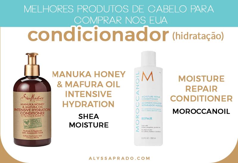 Os melhores condicionadores de hidratação para comprar nos Estados Unidos! Veja os melhores produtos de cabelo para comprar nos EUA nesse post!