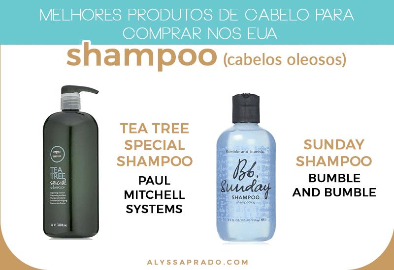 Os melhores shampoos para cabelos oleosos dos Estados Unidos! veja outros produtos de cabelo para comprar nos EUA nesse post!