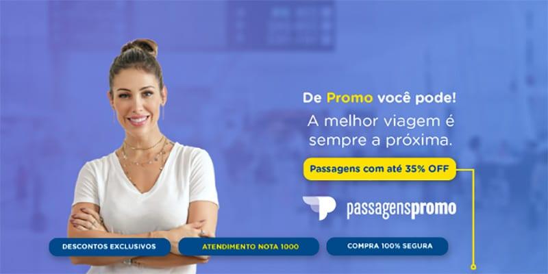 Viaje barato com as passagens da Passagens Promo! 35% de desconto em bilhetes aéreos! Conheça esse e outros 17 sites para te ajudar a economizar na viagem nesse post!